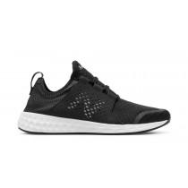 New balance chaussures pour hommes fresh foam cruz course noir et blanc MCRUZ-112