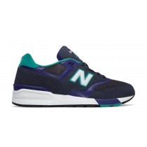 New balance chaussures unisex 597 lifestyle marine et teal ML597-057