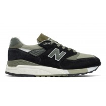 New balance chaussures pour hommes 998 lifestyle noir et sage M998-095