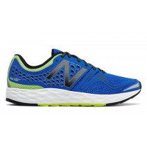 New balance chaussures pour hommes fresh foam vongo running noir et bleu et impulse MVNGO-118