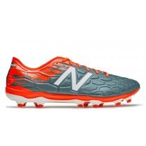 New balance chaussures pour hommes visaro 2.0 pro fg football typhoon et alpha orange MSVROF-248