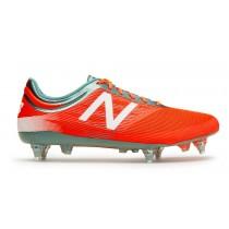 New balance chaussures pour hommes furon 2.0 mid football alpha orange et tornado et blanc MSFMIS-128
