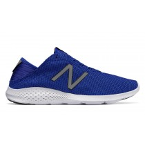 New balance chaussures pour hommes vazee coast running bleu et blanc MCOAS-219