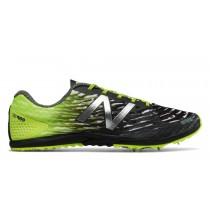 New balance chaussures pour hommes xc900v3 spike running hi-lite et noir MXC900-259