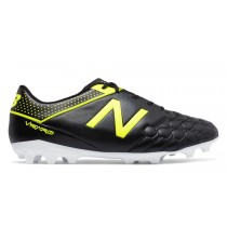 New balance chaussures pour hommes visaro 1.0 football noir et firefly MSVRLA-236