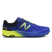 New balance chaussures pour hommes fresh foam hierro running electric bleu et uv bleu et hi-lite MTHIER-115