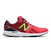 New balance chaussures pour hommes 1400v4 course rouge et noir et toxic M1400-006