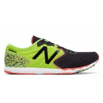 New balance chaussures pour hommes hanzo s course lime et noir MHANZS-136