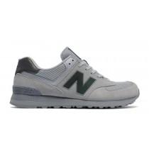 New balance chaussures pour hommes 574 urban twilight casual argent vison et gunmetal ML574-049