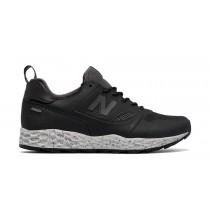 New balance chaussures pour hommes fresh foam trailbuster casual noir et gris MFLTB-117