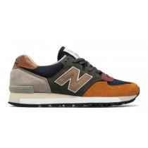 New balance chaussures pour hommes 575 surplus casual vert et marine et burnt orange M575-050
