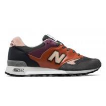 New balance chaussures pour hommes 577 surplus casual tan et gris et burnt orange M577-054