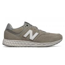 New balance chaussures pour hommes fresh foam 574v2 casual flint gris et blanc MFL574-107