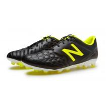 New balance chaussures pour hommes visaro pro fg football noir et firefly MSVRKF-258