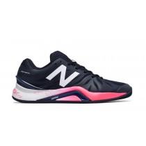New balance chaussures pour hommes 1296v2 tennis uv bleu et brillant cerise MC1296-150