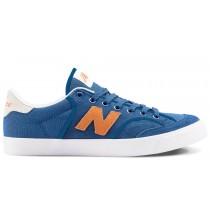 New balance chaussures unisex pro court 212 lifestyle royal bleu et orange et blanc NM212-088