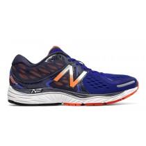 New balance chaussures pour hommes 1260v6 running bleu et orange M1260-149