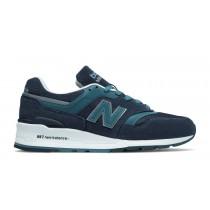 New balance chaussures pour hommes 997 casual marine et castaway M997-087