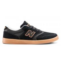 New balance chaussures unisex 598 lifestyle noir et orange et gum NM598-003
