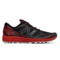 New balance chaussures pour hommes vazee summit trail running noir et rouge MTSUM-233