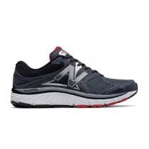 New balance chaussures pour hommes 940v3 running noir et rouge et argent M940-199