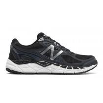 New balance chaussures pour hommes 840v3 running noir et blanc M840-190