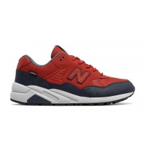 New balance chaussures pour hommes 580 wax pack casual rouge et marine MRT580-063