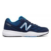 New balance chaussures pour hommes 517 entraînement marine et electric bleu MX517-165