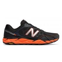 New balance chaussures pour hommes leadville v3 course noir et orange MTLEAD-139