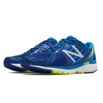 New balance chaussures pour hommes 1260v5 course bleu et brillant bleu M1260-148