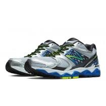 New balance chaussures pour hommes 1340v2 course argent et bleu et noir M1340-152