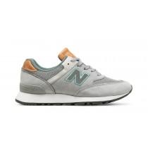 New balance chaussures unisex 576 nubuck lifestyle lumière gris et poussièrey bleu W576-050