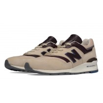 New balance chaussures pour hommes 997 lifestyle tan et marron M997-086