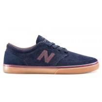 New balance chaussures pour hommes 345 marine et bourgogne et gum NM345-260