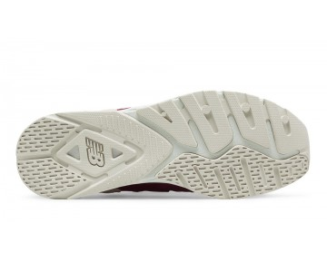 New balance chaussures pour hommes 009 bourgogne et blanc ML009-272