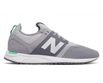 New balance chaussures pour femmes 247 classic lifestyle argent vison et vivid jade WRL247-200