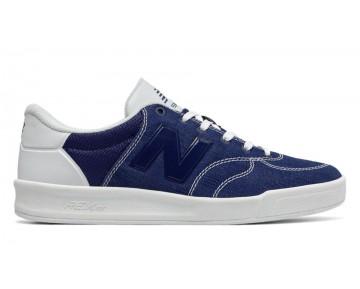 New balance chaussures unisex 300 suede lifestyle marine et blanc CRT300-107