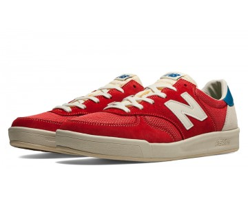New balance chaussures unisex 300 vintage casual classic rouge et blanc CRT300-111
