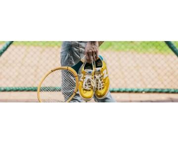 New balance chaussures unisex 300 vintage casual jaune et blanc CRT300-112