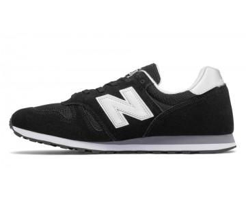 New balance chaussures unisex 373 modern classics casual noir et argent et gris ML373-119