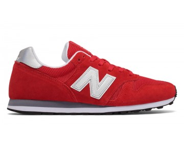New balance chaussures unisex 373 modern classics casual rouge et argent ML373-122