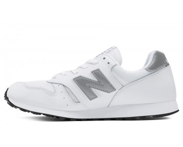 New balance chaussures unisex 373 modern classics casual blanc et argent ML373-123