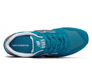 New balance chaussures pour femmes 373 suede lifestyle teal et lumière violet et blanc WL373-207