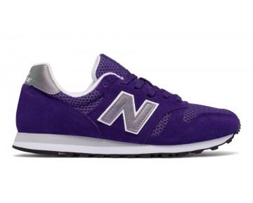 New balance chaussures pour femmes 373 suede lifestyle violet et gris et blanc WL373-208