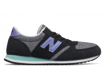 New balance chaussures pour femmes 420 70s running noir et aquarius WL420-214