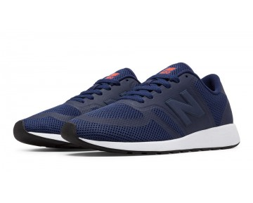 New balance chaussures unisex 420 re-engineered lifestyle marine et orange MRL420-139