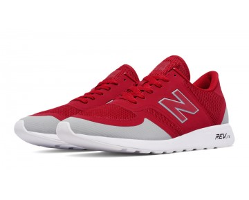 New balance chaussures unisex 420 re-engineered casual rouge et lumière gris MRL420-143