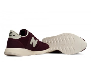 New balance chaussures pour hommes 420 re-engineered lifestyle bourgogne et lumière gris MRL420-290