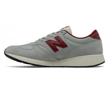 New balance chaussures pour hommes 420 re-engineered lifestyle gris et rouge MRL420-292