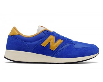 New balance chaussures pour hommes 420 re-engineered lifestyle bleu et jaune MRL420-293